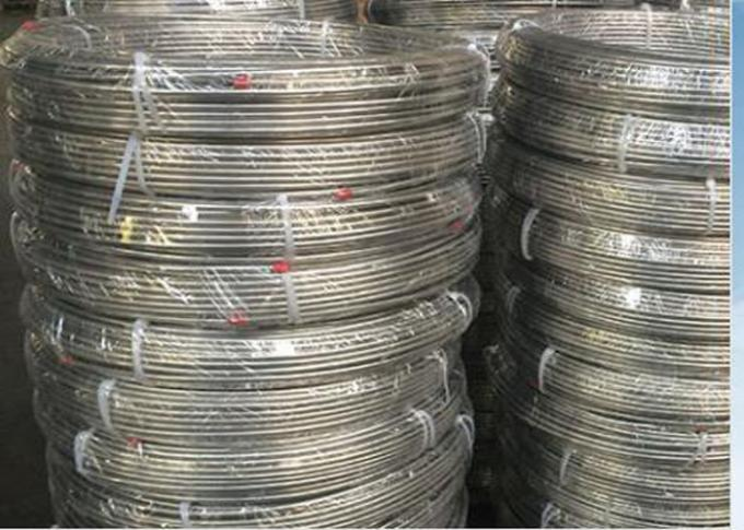304 / 304L Stainless Steel Coil Tubing , High Pressure Stainless Steel Pipe Coil